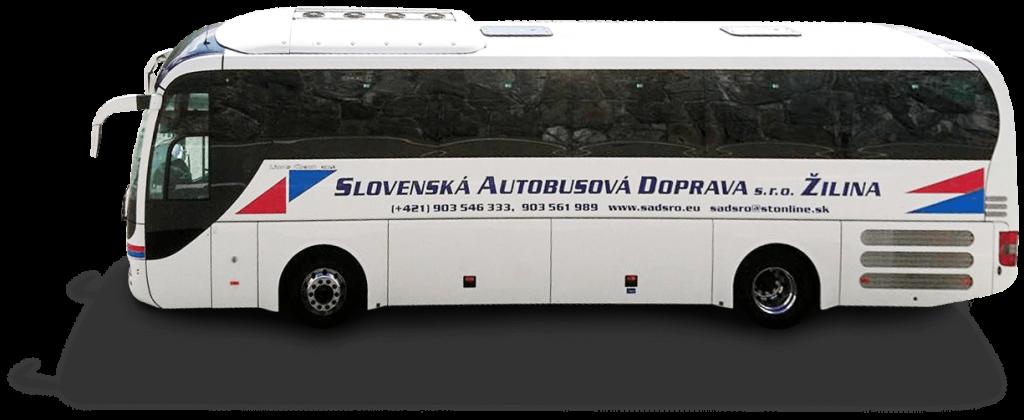 autobusova doprava SAD s.r.o Žilina